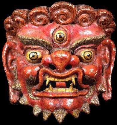 Masque tibétain -17ème - Rubin Museum of Art