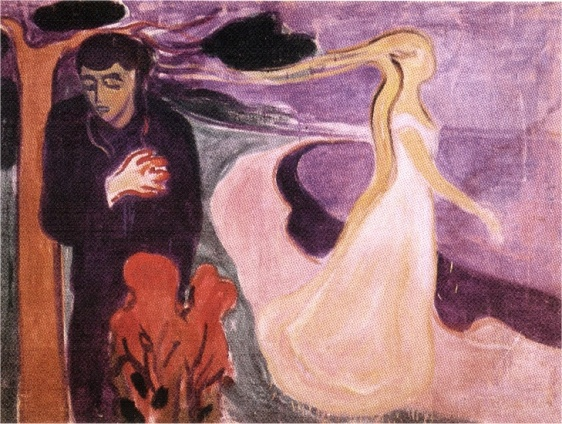 Edward Munch (1863-1944) - Separation