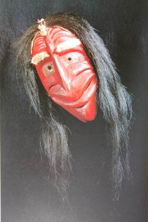 Masque iroquois - Face d'hypocrite