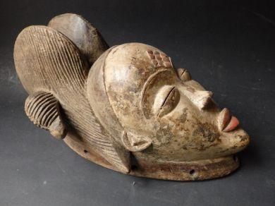 Masque africain Okuyi - PUNU - Gabon