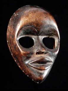 Masque ancien Dan Yacouba - Liberia