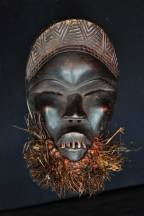Masque féminin de danse - Yacouba - Côte d'Ivoire