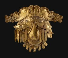 Masque d'or de Chaman - Equateur