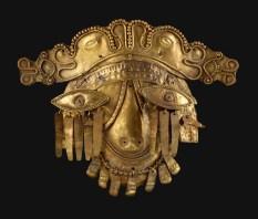 Masque d'or de Chaman - Equateur