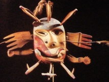 Masque esquimau - Alaska (_ancienne collection André Breton)
