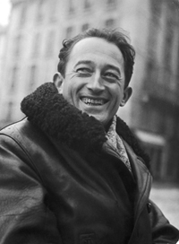 Pierre Seghers - crédit photo Robert Doisneau