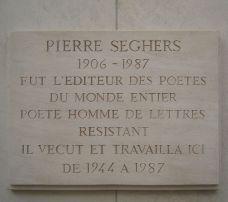 Plaque commémorative au 228 Bd raspail à Paris