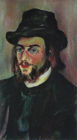 Suzanne Valadon - Portrait d'Erik_Satie - 1893