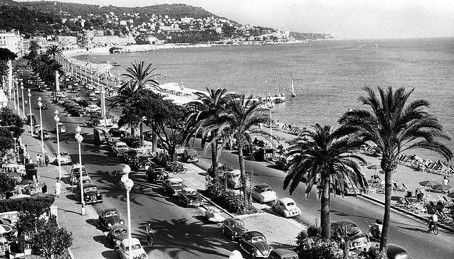 Nice - Promenade des Anglais (vers 1970)