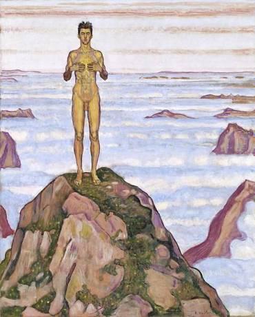 Ferdinand Hodler - 1853-1918 - Genève - Regard dans-l'infini III - 1903-1906