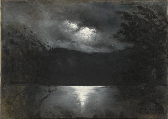 Léon Bonnat - Le lac de Gérardmer - 1893 - Mudo (Beauvais)