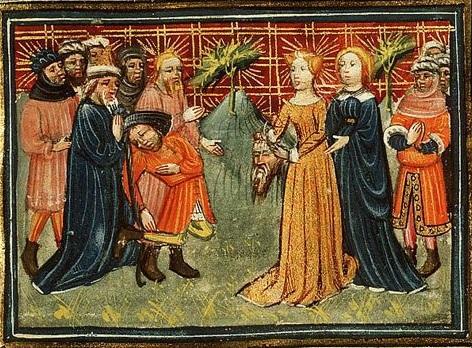 Bible des Maitres - enluminure - 1430