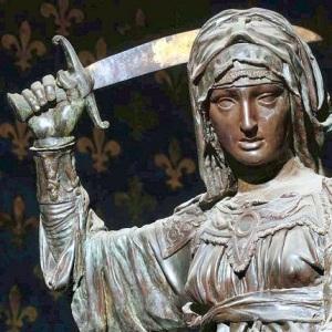 Donatello -Judith et Holopherne -bronze - 1455-1460 (détail)