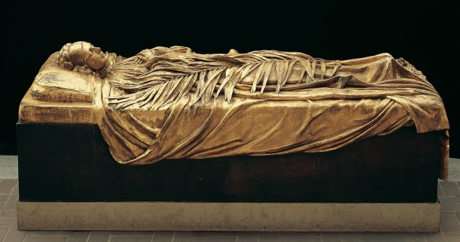Franck Duveneck - Tomb effigy of Elizabeth Boott Duveneck - 1891