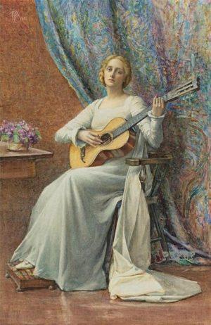 James Carroll Beckwith (1852 – 1917) - Mélodie