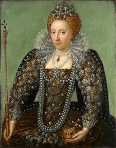Queen Elizabeth I - Artiste inconnu début XVII ©National Portrait Gallery, London.